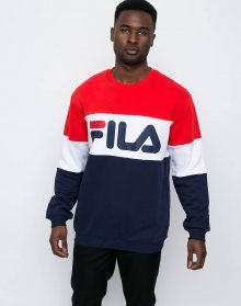 Fila Straight Blocked Peacoat-High Risk Red-Bright White M
