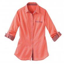 Blancheporte Košile s puntíky korálová 38