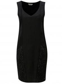 Černé šaty s kapsami Skunkfunk Adi