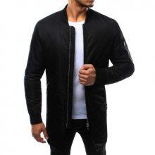 Pánská bunda prodloužená černá