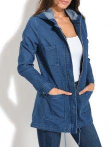 Pearly Blue Dámská džínová bunda\n\n