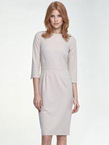Nife Dámské šaty s80_beige