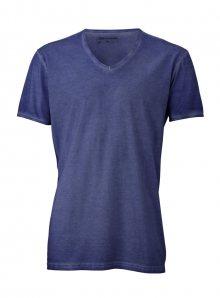 Pánské tričko Gipsy - Džínově modrá S
