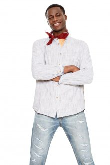 Desigual pruhovaná pánská košile Owen
