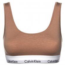 Calvin Klein béžová sportovní podprsenka Bralette U Back