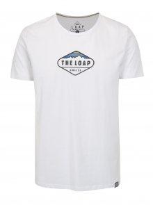 Bílé pánské tričko LOAP Bandos
