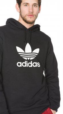 Trefoil Warm-Up Mikina adidas Originals | Černá | Pánské | L