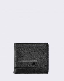Nixon Showtime Bi-Fold ID Zip All Black