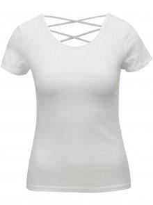 Bílé tričko s pásky na zádech TALLY WEiJL