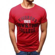 Pánské tričko ORIGINAL s potiskem červené