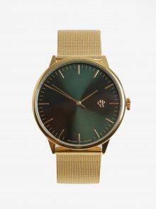 Dámské hodinky ve zlaté barvě s nerezovým páskem CHPO Nando