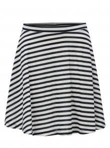 Bílo-modrá pruhovaná sukně ONLY Olivia
