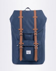 Herschel Supply Little America Navy/Tan Synthetic Leather 25l