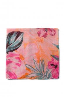 Desigual barevný šátek Malibu Rectangle