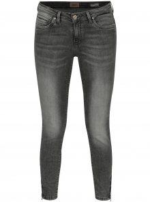 Šedé zkrácené regular fit džíny ONLY Kendell