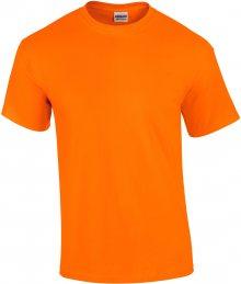 Tričko Gildan Ultra - Neonová oranžová XL