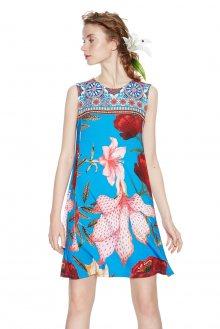 Desigual pestrobarevné šaty Dario