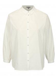 Bílá košile s 3/4 rukávem Ulla Popken