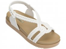 Melissa bílé sandály Cosmic Sandal + Salina Beige/White - 37