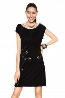 Desigual černé šaty Benedetto - S