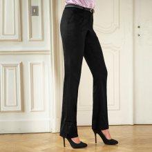 Blancheporte Kalhoty s příměsí vlny černá 40