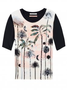 Scotch&Soda barevné tričko s tropickými motivy Photo Print - XS