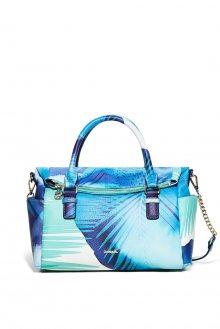 Desigual barevná kabelka Blue Palms Loverty