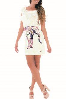 Culito from Spain vanilkové šaty Elefante