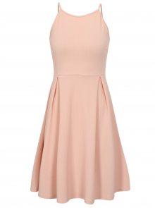 Světle růžové šaty na ramínka Haily´s Lolly