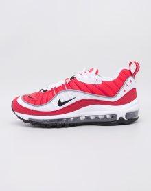 Nike Air Max 98 White/Black-Gym Red-Reflect Silver 38