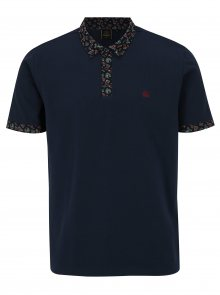 Tmavě modré polo tričko Merc