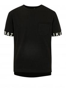 Černé klučičí tričko LIMITED by name it Robert