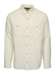 Krémová pánská košile BUSHMAN Seadrift