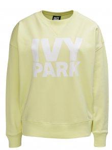 Žlutá oversize mikina s potiskem Ivy Park