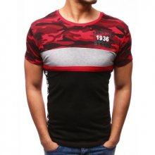 Pánské ORIGINAL tričko s potiskem červené