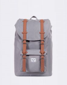 Herschel Supply Little America Mid-Volume Grey/Tan Synthetic Leather