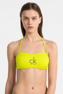 Calvin Klein žlutý horní díl plavek CK NYC