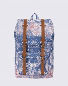 Herschel Supply Little America Mid-Volume Chai/Tan Synthetic Leather