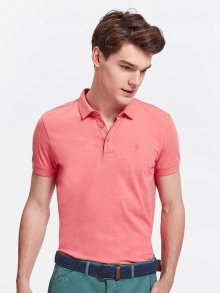 Polo tričko růžová M