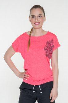 Sam 73 dámské triko s krátkým rukávem růžová neon XS