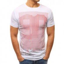 Pánské tričko s potiskem bílé