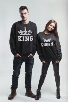 Set mikin Oversize King Queen Crown Black [KQ]