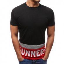 Pánské tričko s potiskem černé