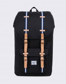 Herschel Supply Little America Black/Blueprint/White