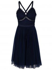 Tmavě modré šaty Chi Chi London Sasha