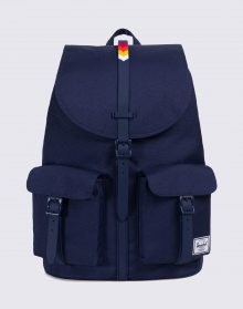 Herschel Supply Dawson Peacoat/Rainbow Chevron Rubber