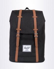 Herschel Supply Retreat Black/Tan Synthetic Leather 19,5l