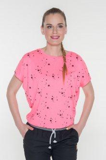 Sam 73 dámské triko s krátkým rukávem růžová světlá L