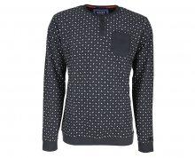 Noize Pánské triko s dlouhým rukávem Charcoal 4514100-00 L