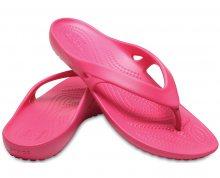 Crocs Dámské žabky Kadee II Flip Paradise Pink 202492-6NP 36-37